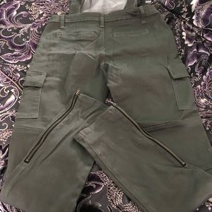 Pants - Spoon jeans size 13 overalls olive green